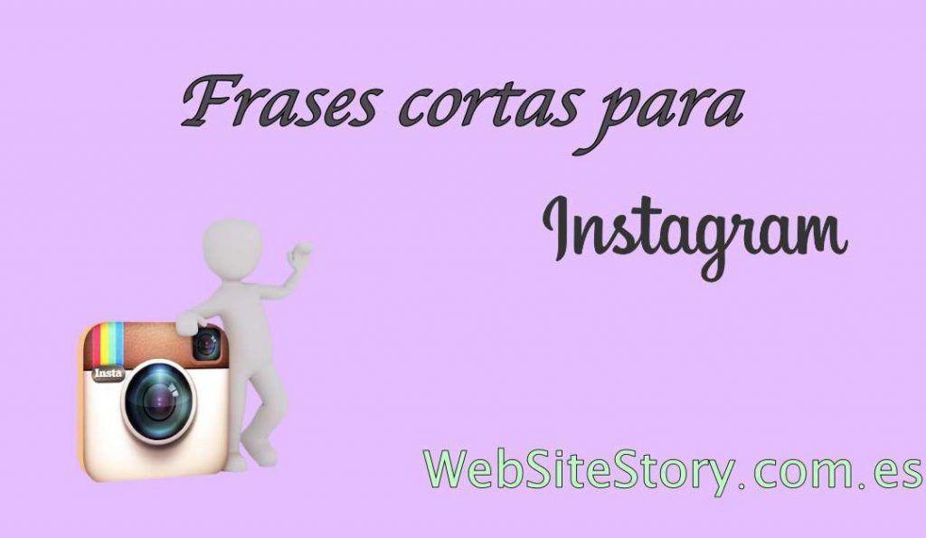 frases cortas para Instagram
