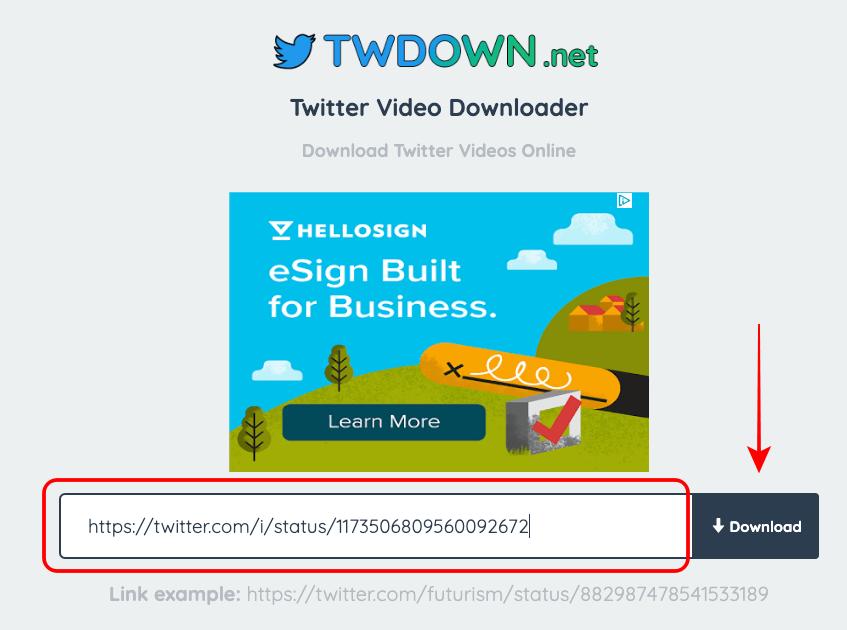 twdown.net descargar imagen de twitter