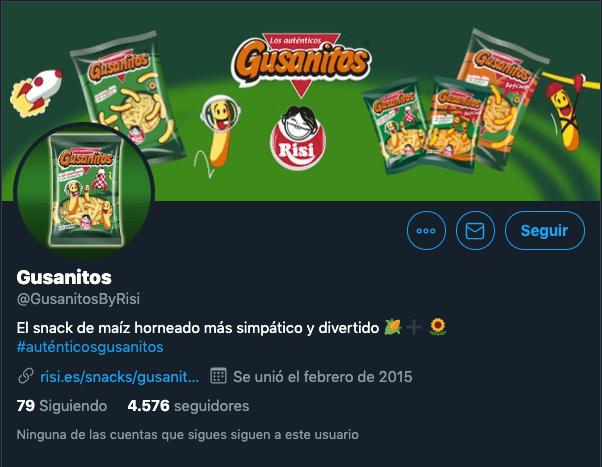 perfil Twitter Risi